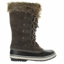 Sorel Womens Joan of Arctic Major/dark Stone Snow Boots Size 8.5 (1753415) Photo