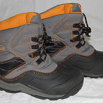 Sorel Yoot Timberwolf Winter Snow Boots Youth 3 Gray Photo