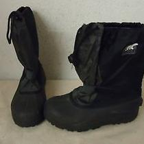 Sorel Youth Junior Winter Snow Lined Boots Size 6 Us Photo