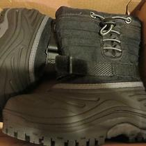 Sorel Youth Snow Trooper Black Snow Boots Size 12 Photo