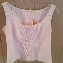 Spanish Flamenco Costume White Sleeveless Shirt Women Free Shipping Photo