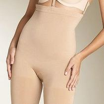 Spanx 067 Slim Cognito Shaping Midthigh Bodysuit Medium M ( 6 - 8 ) With Straps Photo
