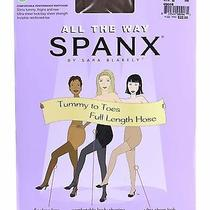 Spanx All the Way Tummy to Toes Full Length Hose Cocoa B New Photo