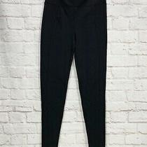 Spanx Assets High Waisted Leggings Black Seam on Front Size Medium M Photo
