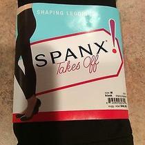 Spanx Black Leggings Size M.   Photo