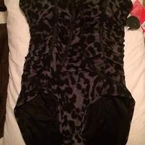 Spanx Cheetah Swimsuit in Size 10 Photo