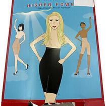 Spanx Higher Power High Waisted Panties Slimming Black Underwear Women's Size D Photo