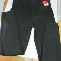 Spanx Jean-Ish Ankle Length Leggings Regular Black Sz Large  Nwt  Photo