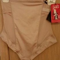 Spanx Oh My Posh High Waisted Thong Shaping Lingerie Xl Natural Msrp 72.00 Photo