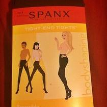 Spanx Plus Size Tight-End Tights Size F Black (Reversible)  Photo