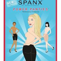 Spanx Power Panties by Sara Blakely Color Bare Womens Size D Photo