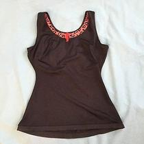 Spanx Simplicity Tank Top Brown L Scoop Neck Camisole Shaper Perfect Photo