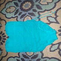 Spanx Size 12 Teal Swimsuit One Piece Photo