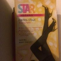 Spanx Star Power - Center-Stage Shaping Tights Hthrd Java - Sz a Nwt Photo