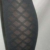 Spanx Tight-End Bodyshaping Tights a Charcoal Gray Trinket Patterned  Womens New Photo