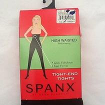 Spanx Tight End Tights High Waisted Body Shaping Brown Plus Size G Retail38 Photo