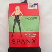Spanx Tight End Tights High Waisted Body Shaping Charcoal Plus Size G Retail38 Photo