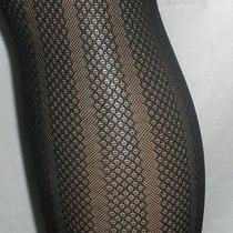 Spanx Tight-End Tights Size a Black Patterned Bodyshaping Women's New 2 Pair Photo
