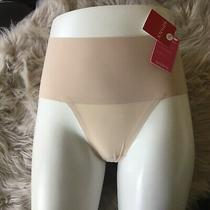 Spanx Undie-Tectable Thong Panty Size Small Soft Nude Sp0115 - Nwt Photo