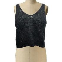 Sparkle & Fade Trendy Top Sz S Nwot Urban Outfitters Gray Sequin Trendy Knitted Photo