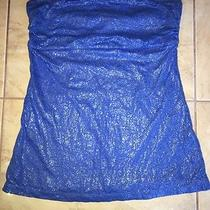Sparkly Blue S Express Top Photo