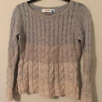 Sparrow Anthropologie Blue Ombre Wool Blend Sweater Size Large Photo