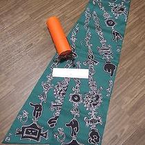 Special Edition Hermes Ginza Silk Scarf Carre Maxi Twilly