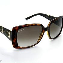Special Offergucci 3537 3537s Brown/havana/gold 5e7ha  Sunglasses Photo