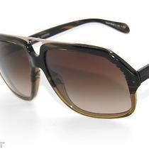 Special Offer Oliver Peoples Djru Dj Ru 1001/13 Mink Brn Gradient Sunglasses  Photo
