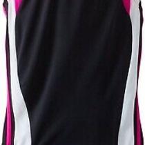 Speedo 237963 Kids Girls Color Block Swimsuit One Piece Infinity Blush Size 14 Photo