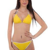 Speedo - Costume Bikini Junior - Shine Triangle - Giallo - 42-326-9243 Photo