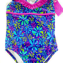 Speedo Girls One Piece New Blush Bathing Suit Size 7 Photo