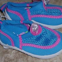 Speedo Pink Blue Baby Kids Uv Beach Booties Pool Sandals Water Shoes S - M 6-12m Photo