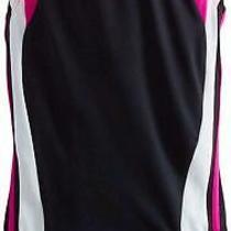 Speedo Youth Solid Infinity Splice 1 Piece Swimsuit Deep New Blush Size 10.0 Photo