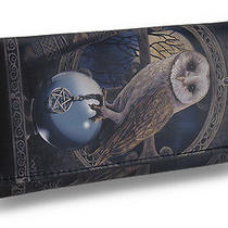 Spell Keeper Faux Leather Gothic Fantasy Wallet Lisa Parker Artwork Photo