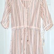 Spell & the Gypsy Collective Blush Striped Romper Photo