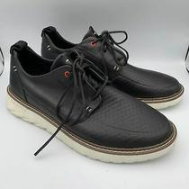 Sperry Element 3 Eye Black Leather Sneakers 129 Men's Size 13 M Nwob Photo