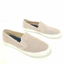 Sperry Top-Sider Seaside Perforated Blush Pink Slip on Boat Shoes Womens Size 7 Photo