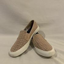 Sperry Women's Size 6.5 Blush Pink Seaside Perforated Leather Sneaker Slipon Photo