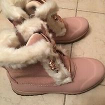 Sperry Womens Maritime Repel Suede Boots Blush Sz 8 Photo
