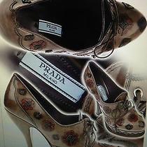 Spettacolare Prada Shoes Spring/summer 2013 Us 37 Eur 38 1/2 Photo