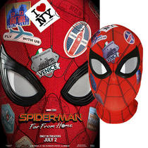 Spider-Man Far From Home Peter Parker Halloween Costume Mask Lenses 3d Cosplay Photo