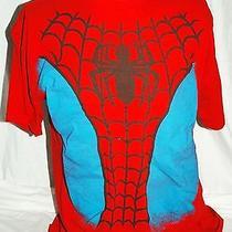 Spider Man Marvel Comics Costume Type T Shirt Mens Xl Peter Parker Photo