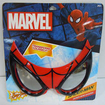 Spider-Man Marvel Sun-Staches Super Hero Sunglasses Cosplay Costume Eyewear New Photo