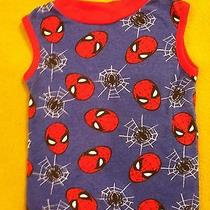 Spider-Man Youth Tank Top Size 6 Blue With Red Trim Marvel Comics Peter Parker Photo