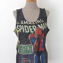 Spiderman Peter Parker Marvel Comics T-Shirt Women Tank Top .. M-L Size Photo