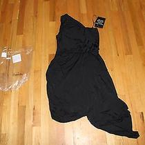 Spiegel Gathered One Shoulder Dress by Newport News Size Medium New With Tags Photo