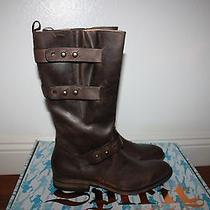 Spirit by Lucchese Womens Amelia Boots New Size 8.5 Brown Calf Leather Photo