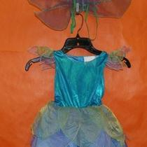 Spirit Halloween Toddler 2t-4t Aqua Fairy Wings Costume Photo