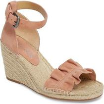 Splendid Bedford Espadrille Wedge Sandal Dark Blush Size 8 Photo